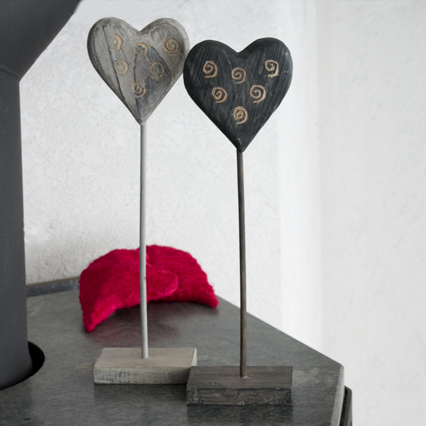 holzherz auf fuss. Black Bedroom Furniture Sets. Home Design Ideas